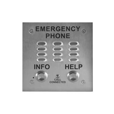 ADA Compliant Emergency Phones with Enhanced Weather Protect