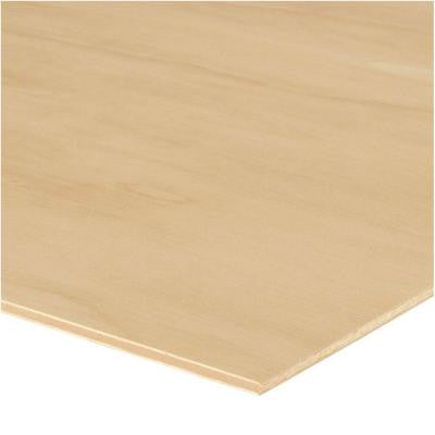 Sande Plywood (Common: 1/4 in. x 4 ft. x 8 ft.; Actual: 0.205 in. x 48 in. x 96 in.)