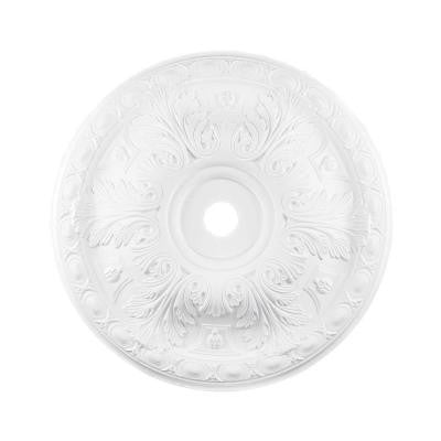 Titan Lighting 36 in. White Ceiling Medallion