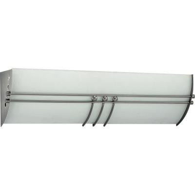 Avila 2-Light Brushed Nickel Bath and Vanity Light