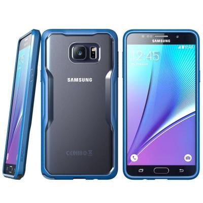 Galaxy Note 5 Unicorn Beetle Series Hybrid Protective Case - Blue