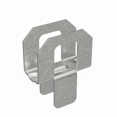 7/16 in. 20-Gauge Plywood Sheathing Clip (250-Pack)