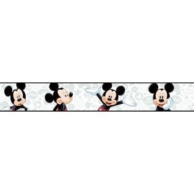 9 in. H Walt Disney Kids II Mickey Border