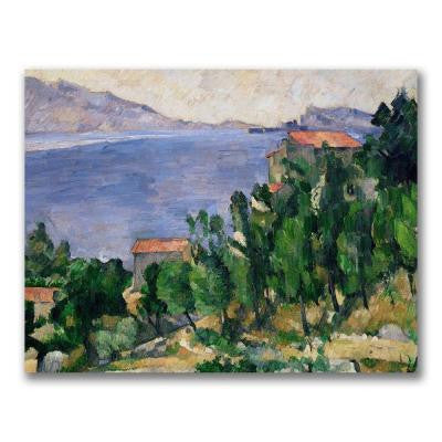 24 in. x 32 in. View of Mount Marseilleveyre Canvas Art