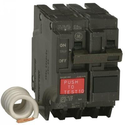 Q-Line 20 Amp 2-1/4 in. Double Pole GFCI Circuit Breaker
