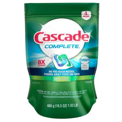 Complete ActionPacs Fresh Scent Dishwasher Detergent (25-Count)