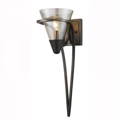 Emmalyn Collection 1-Light Burnt Sienna Sconce