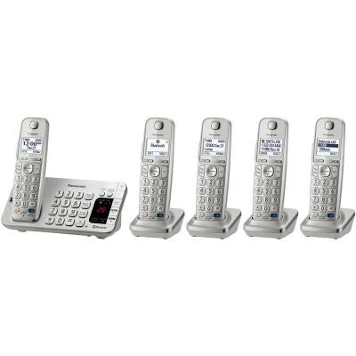 Link2Cell 5-Handset Digital Cordless Bluetooth Cellular Convergence Solution
