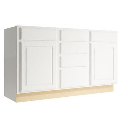 Salvo 60 in. W x 34 in. H Vanity Cabinet Only in Lace