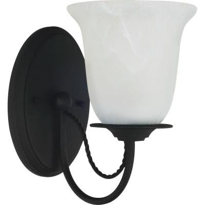 Plymouth 1-Light Blacksmith Sconce