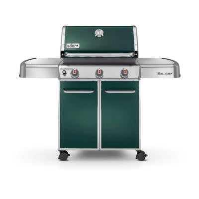 Genesis E-310 3-Burner Propane Gas Grill in Green