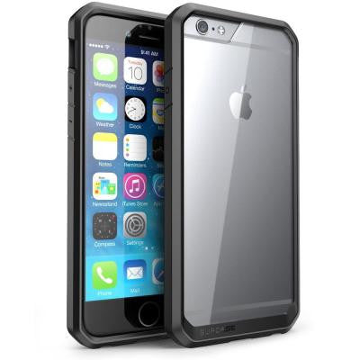 Unicorn Beetle Hybrid Bumper Case for Apple iPhone 6 - Clear/Black