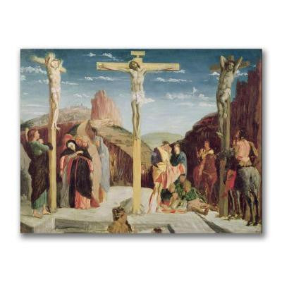 24 in. x 32 in. Calvary, After by Andre Mantegna Canvas Art