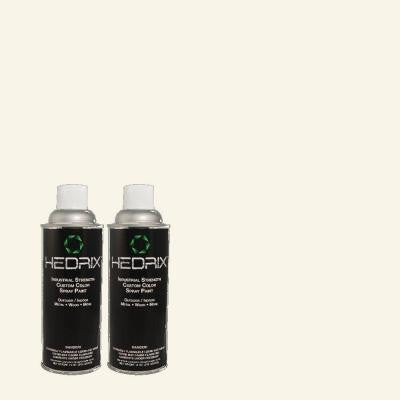 11 oz. Match of ECC-38-2 Icy Tundra Low Lustre Custom Spray Paint (2-Pack)