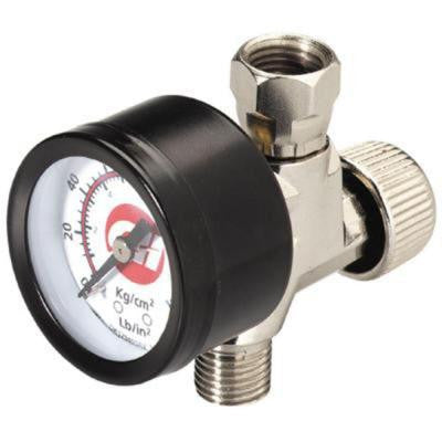 1/4 in. NPT Air Adjustment Valve with Gauge