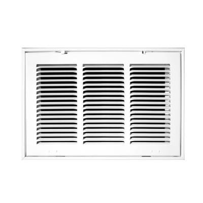 25 in. x 16 in. White Return Air Filter Grille