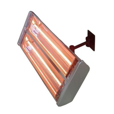 1,500 Watt Infrared Double Electric Wall-Mount Electric Patio Heater