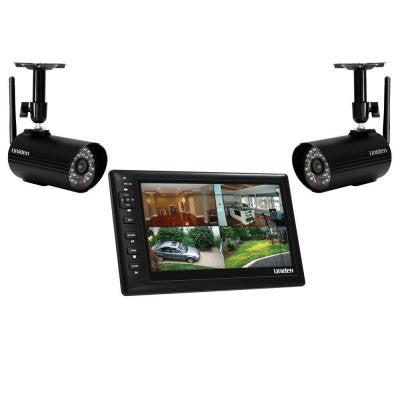 Wireless 480 TVL Indoor and Outdoor Portable Video Surveillance with 2 Outdoor Cameras