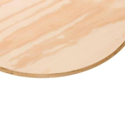 3/4 in. x 1-1/2 ft. BC Pine Plywood Round Board