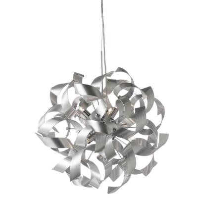 Partizon 7-Light Silver Pendant