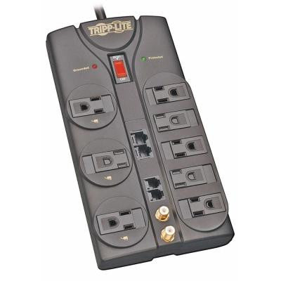Protect It 10 ft. Cord with 8-Outlet Surge