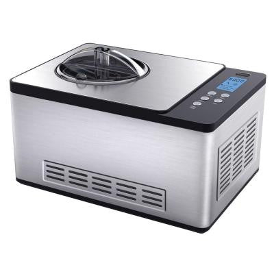 2.1 qt. Ice Cream Maker in Stainless Steel