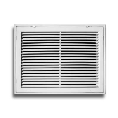 20 in. x 20 in. Aluminum Fixed Bar Return Air Filter Grille
