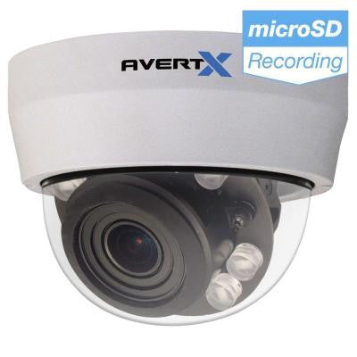 PRO 4MP Autofocus Zoom Indoor/Outdoor IP Dome Camera with Night Vision