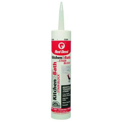 10.1 oz. Premium Kitchen and Bath with Stain Block Caulk
