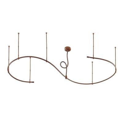 12 ft. Adjustable Antique Bronze Flex Track Starter Kit