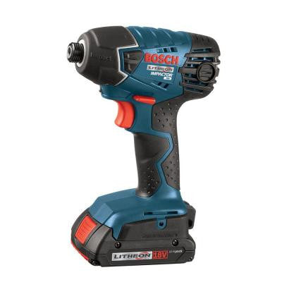 18-Volt Lithium-Ion 1/4 in. Cordless Impact Driver Kit with (2) 2.0 Ah Batteries