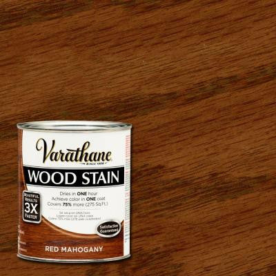 1 qt. 3X Red Mahogany Premium Wood Stain (2-Pack)