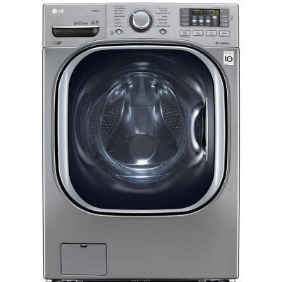 4.5 DOE cu. ft. High-Efficiency Front Load Washer with TurboWash in Graphite Steel, ENERGY STAR