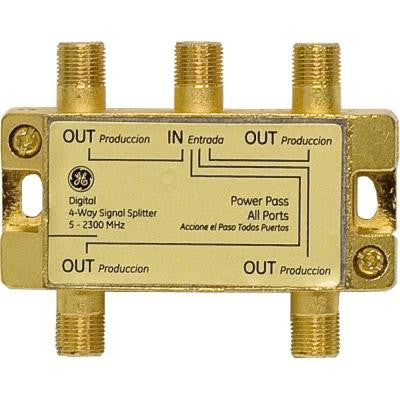 4-Way 2500MHz Coax Splitter