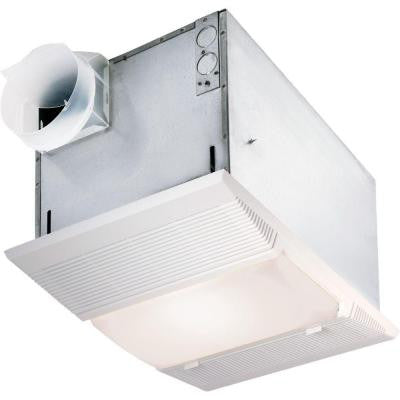 70 CFM Ceiling Exhaust Fan with Night Light and Heater