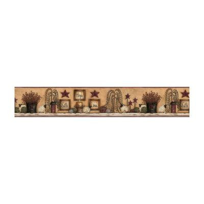 6 in. H Faith Hope Love Shelf Border