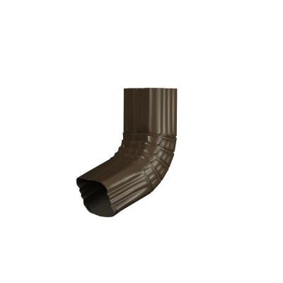 2 in. x 3 in. Terra Bronze Aluminum Downspout A Elbow