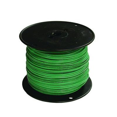 500 ft. 18/1 TFFN Fixture Wire - Green