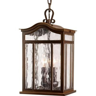Meadowlark Collection Oil Rubbed Bronze 3-light Hanging Lantern