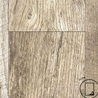 24 in. x 48 in. RE-COVER Laminate Sheet in Rediscovered Oak Planked