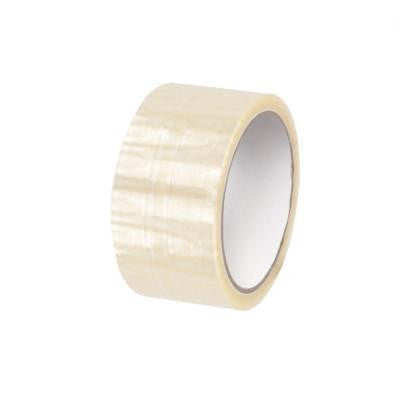 2 in. x 55 yds. Clear Economy Hot Melt Tape (6-Pack)