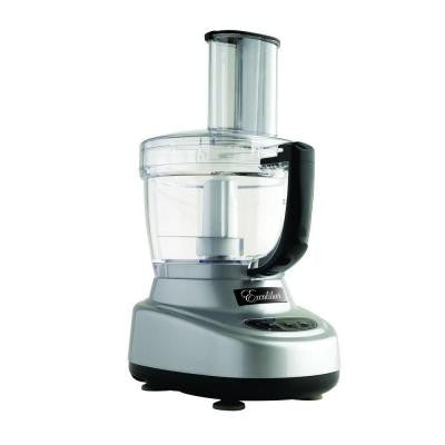 11-Cup Food Processor in Silver