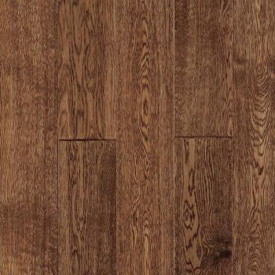 3/4 in. x 5 in. Standard Length Longford Antique Brown 21.70 sq. ft. Solid Hardwood