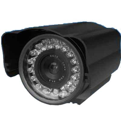 Wired Weatherproof 420TVL Indoor/Outdoor Bullet Camera with 82 ft. Night Vision