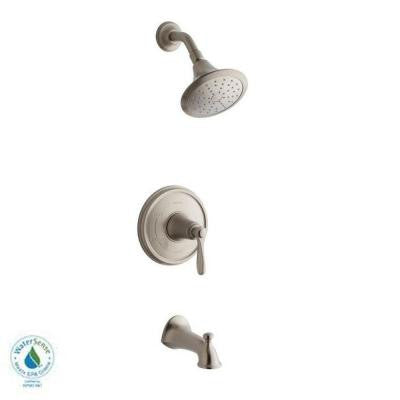 Linwood Bath/Shower Faucet in Brushed Nickel