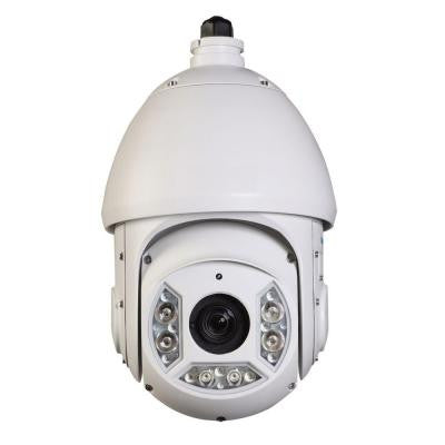 Wired 2-Megapixel 30x HD Cost-Effective Network IR PTZ Indoor/Outdoor Dome Camera