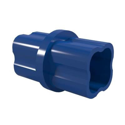 3/4 in. Furniture Grade PVC Sch. 40 Internal Coupling in Blue (10-Pack)
