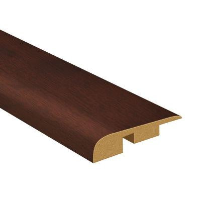 94.5 in. x 1.38 in. Deep Rosewood Woodgrain End-Cap Molding