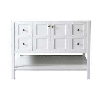 Winterfell 48 in. Vanity Cabinet Only in White