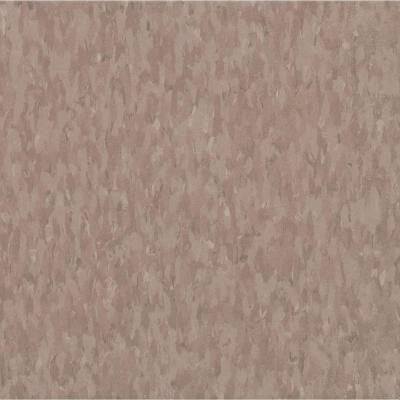 Imperial Texture VCT Rose Hip Commercial Vinyl Tile - 6 in. x 6 in. Take Home Sample